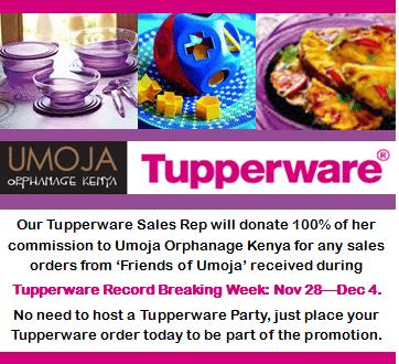 tupperware promo